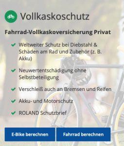 Ammerländer E-Bike-Vollkasko